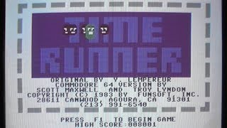 Let' Compare:  Time Runner (800XL/C64)