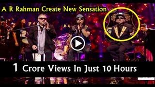 Urvashi Urvashi latest || A R Rehman song