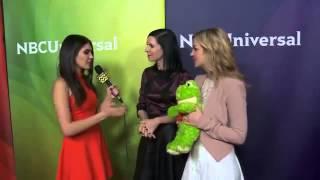 Jill Kargman & Abby Elliott @ NBC Universal's Winter Press Tour Event | AfterBuzz TV