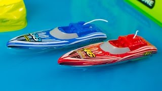 Toy Boats for Kids Sharper Image RC Speed Boat Racing Playset Toys for Boys Kinder Playtime