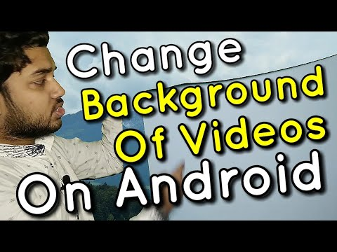 Xxx Mp4 How To Change Background Of Videos From Android Phone Chroma Key Green Screen Detailed Tutorial 3gp Sex