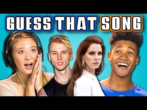 TEENS GUESS THAT SONG CHALLENGE 6 REACT
