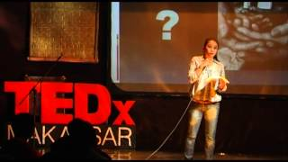 Menumbuhkan kepedulian dan empati terhadap ODHA: Shanti Riskiyani at TEDxMakassar