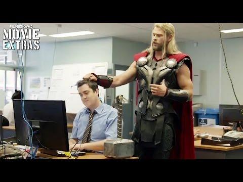 See what Thor & Hulk were up to during Captain America Civil War Bonus Video Blu Ray DVD 2016