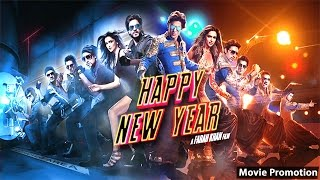 Happy New Year Movie - Shah Rukh Khan - Deepika Padukone - Full Promotion Events Video