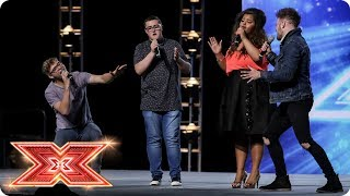 Will Harry, Daniel, Scarlett and Jack make History? | Boot Camp | The X Factor 2017