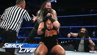 Heath Slater & Rhyno vs. Wyatt Family - SmackDown Tag Team Title Match: SmackDown LIVE, Dec. 6, 2016