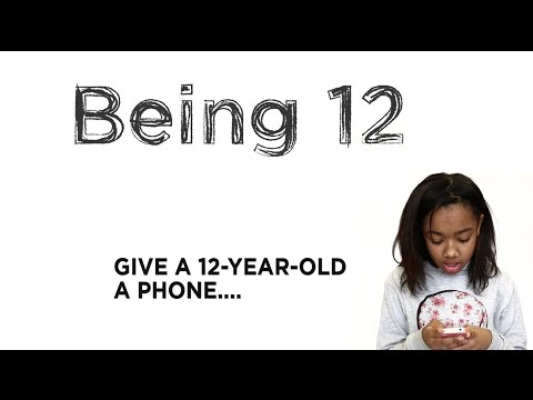 If You Give a 12-Year-Old a Phone....