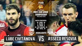 Lube Civitanova vs. Asseco Resovia | Semifinal | Highlights | FIVB Club World Championship 2018