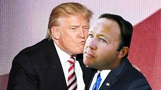 Alex Jones Is Having Some REALLY TRANSCENDENT Phone Conversations With Donald Trump