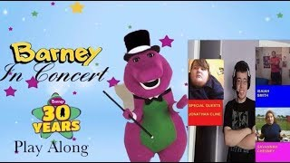 Barney In Concert Play Along