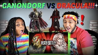"Death Battle! ""Ganondorf VS Dracula (Zelda VS Castlevania)"" REACTION!!!"