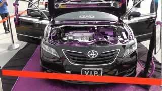 Bahrain showroom-AMA car show 2013 Black Snake -كامري معدل