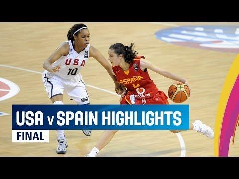 watch USA v Spain - Highlights Final - 2014 FIBA U17 World Championship for Women