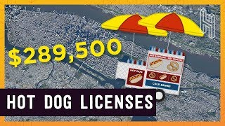 The $289,500 New York Hot Dog Stand License