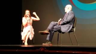 Diane Lane Q/A at Paris Can Wait Movie Premiere in Sarasota Film Festival 2017