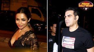 Malaika Arora, Arbaaz Khan, Sonakshi Sinha Spotted At A Party   Bollywood News