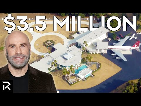 A Look Inside John Travolta s Airport Mansion