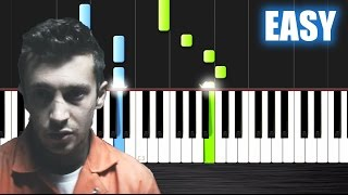 twenty one pilots: Heathens (from Suicide Squad) - EASY Piano Tutorial by PlutaX
