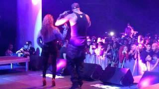 Booba en live -  KILLER  - show chaud avec la danseuse!!