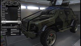 GTA 5 DLC Vehicle Customization (HVY Insurgent Pick-Up Custom)