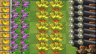 Plants vs. Zombies 2 New Snapdragon vs Imp Cannon