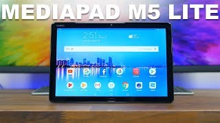 Huawei MediaPad M5 Lite Review: Not Bad For the Price!