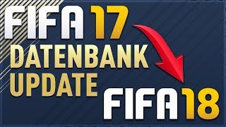 FIFA 17 zu FIFA 18 Transferupdate (Moddingway Database Update)