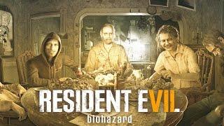 Resident Evil 7 All Baker Family Cutscenes and Boss Fights