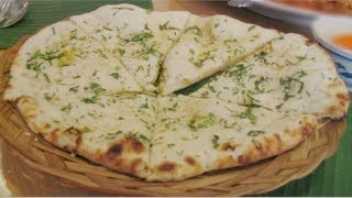 How to make Garlic Butter Naan video recipe - Indian Recipes by Bhavna