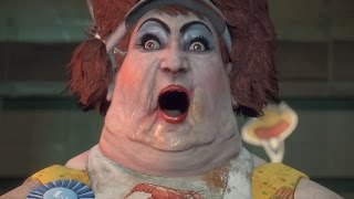 Dead Rising 3: Fat Lady Darlene Psycopath Boss Fight (1080p 60fps)