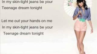 Katy Perry- Teenage Dream (Instrumental Karaoke)