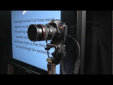 DSLR Tutorial for HDMI out monitoring