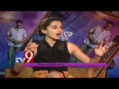 Tapsee's bold clarification on Raghavender Rao controversy! - TV9 Exclusive