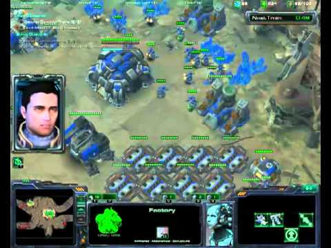 Great Train Robbery 23:54 Part 1 - Starcraft 2 Normal any% Speedrun(7a/19)