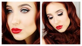 Old Hollywood Glam - Makeup & Hair Tutorial | Jaclyn Hill