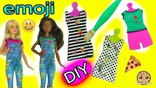 Create your Own Barbie Doll Fashion D.I.Y. Emoji Style Dolls Super Easy Craft Set