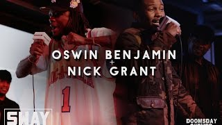 2015 Doomsday Cypher: Oswin Benjamin and Nick Grant