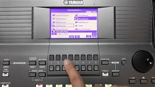 How to Preset Sounds (Yamaha PSR S670)