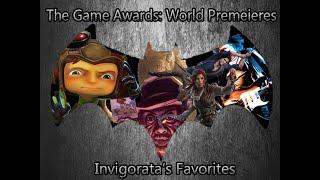 The Game Awards 2015 - World Premiers - Invigorata's Favorites (Full Award List in the Description)