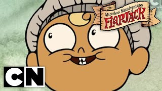 The Marvelous Misadventures of Flapjack - Fish Heads (Clip 2)