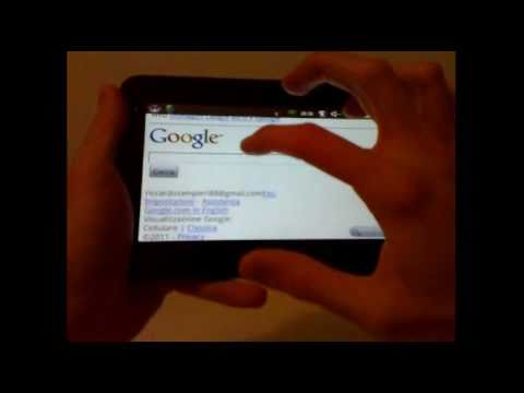 Video dimostrazione Tablet WM8650