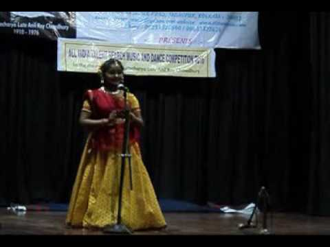 Rajeshwari Sen.  1st Prize Winner. All India Talent Search Music & Dance Competition.