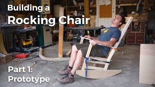 Building an Arts and Crafts Rocking Chair - Part 1: Prototype
