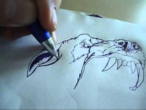 desenhando cachorro speed