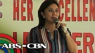 TV Patrol: Leni, nangakong susuportahan si Duterte