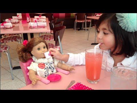 SADIE'S 6TH BIRTHDAY   AMERICAN GIRL STORE BISTRO DINNER   FAMILY VLOG