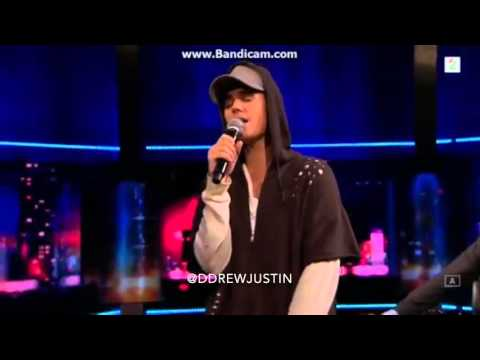 Justin Bieber As Long As You Love Me LIVE on Senkveld Norway