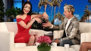 Ellen Meets Illusion Makeup Artist Dain Yoon
