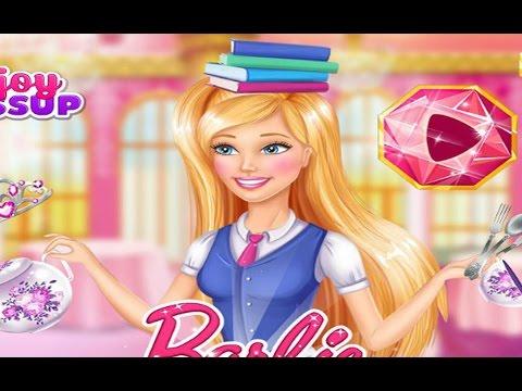 Barbie Charm School Challenge - Girls Games